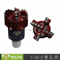 API 3 to 26 inches pdc drill bit wonder core