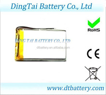 PCM/PCB protected 354270 1200MAH Rechargeable 3.7V Li-ion Battery/Lithium polymer Battery