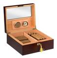 Venda quente em madeira artesanato caixa de presente