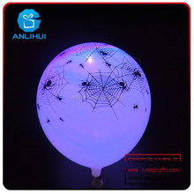 Color mezclado alta calidad material de látex de halloween decoración con globos