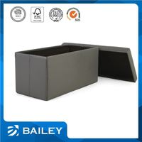 Export Quality Various Design Make To Order Environmental-Friendly Storage Leisure Chair With Ottoman