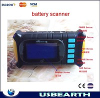 Small size laptop battery scanner Portable notebook battery tester