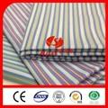 fios de algodão tingido listra oxford camisas de tecido grosso