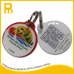Be new and beautiful customized metal pet tags qr code Dog tags with individual id code for dogs made in China