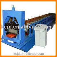 Double layer corrugated and trapezoidal roof and wall panel roll forming machine production line