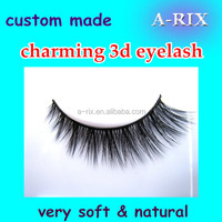 best quality makeup eyelashes/soft 3d strip false eyelash free sample