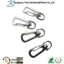 Dongguan Yikai Eco-friendly small metal key hooks bag accessory durable spring hook