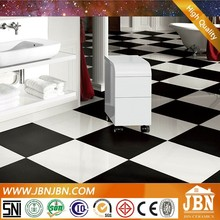 factory direct sale polished tile porcelain white and black diamond tile
