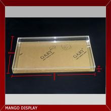 Acrylic display tray,acrylic display cube lid