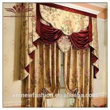 Bolsillo de la barra de la cortina de la ventana, cortinas para la venta, de lujo cortinas cortinas