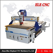 1325 Cnc Wood Machine/cnc router for furniture Industry 1300x2500x200mm with CE, CIQ, FDA certification