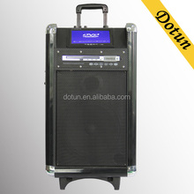DVD player with built in speaker dj speaker system