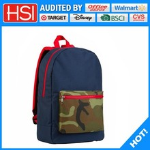 audited factory wholesale price plain stocklot back pack