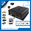 3g vehicle blackbox dvr with GPS WIFI ,G-sensor 4ch car dvr