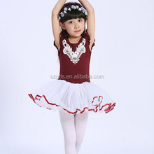 New Children's Day Swan dance costume stage performing ballet dance costumes girls