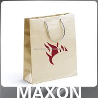 Dongguan factory Pretty!!! pantone color printing kraft paper bag for shop