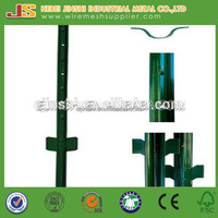 14 gauge Steel plate Heavy Duty Powder Coated Dark Green Color Steel U Post