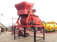 popular 45years manufacturer certificated modifiable design 1000L hopper S1000 concrete mixer in china