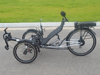 21 Speed Pedal Assisted Electric Recumbent Trike