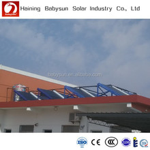 2015 manufacturer price non pressure vacumm glass tube epdm solar pool heating collector, solar manifold water heater