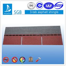 3 tab asphalt shingle tile