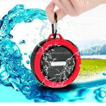 Portable manufacturer 2015 Hot sale C6 waterproof bluetooth speaker