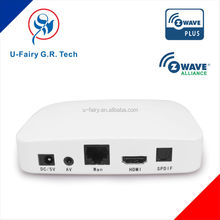 Smart home building automation wireless gateway Z-wave for TV, tablet, smart phone control Android IOS F200-CG678