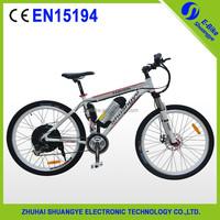 SHUANGYE wholesale green power electric cargo bike
