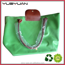Bags for exported new arriver fashion green patent handbags 2015