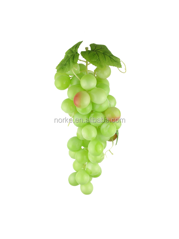 custom red grapes wholesale make artificial fruit for decoration