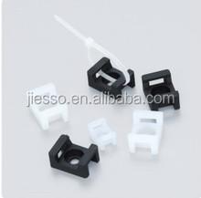 Nylon Saddle Type tie mounts Cable tie holder