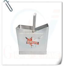 utensilios para bar casa de metal de aluminio cubo de hielo con el mango