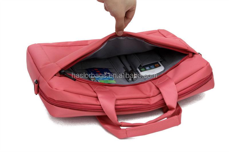Dame personnalisé sac ordinateur portable de messager avec BSCI vérification