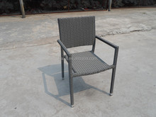 Stacking design garden cheap wicker furniture chair
