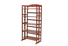 5- niveaux de meubles en bambou naturel& four micro ondes rack