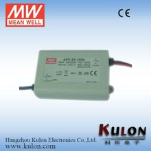 MEANWELL 25W LED Driver APC-25-500 Constant Current 500mA LED Power Supply