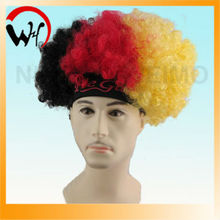 short afro curl lace wig with head band