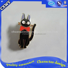 Black Cat Enamel Pin Badge
