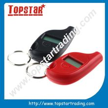 popular Mini tire gauge keychain,digital tire guage
