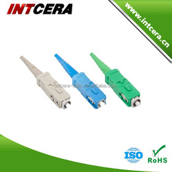 Best price and fast delivery SC optical fiber connector/fiber optic cable connector