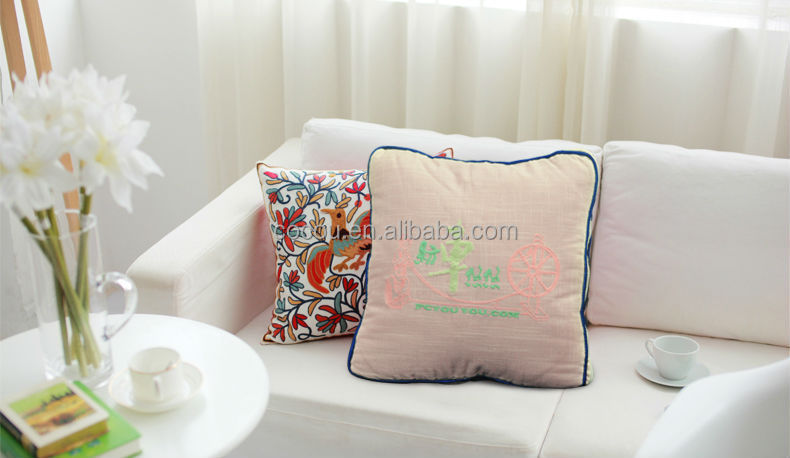 Wholesale embroidered decorative wedding pillow buy