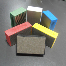 KGS Diamond 95*55mm abrasive sanding block for glass marble granit concrete angle