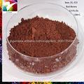 De cerámica del pigmento óxido de hierro rojo/amarillo/negro/marrón polvo fórmula química