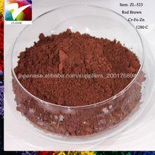 Ceramic Pigment Iron Oxide Red/Yellow/Black/Brown Powder Chemical Formula