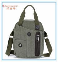 2015 new fashionable work new design shoulder canvas handbag retail