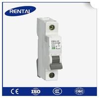 RT001-1 4 pole 10KA switch c63 amp AC DC type 3 phase brand miniature circuit breaker / mcb