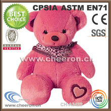 Great gifts baby pink teddy bear toy for your lover or kids