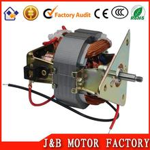 Jiangmen fan motor in ac motors/toaster blender motor/micro oven fan motor used in home processor