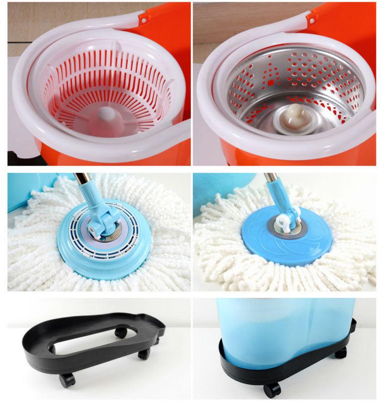Mop com garrafa de detergente 360 magia rotação Mop equipamentos de lavagem de carro