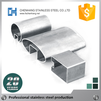 metric thin wall 430 stainless steel sheet pipe and tube